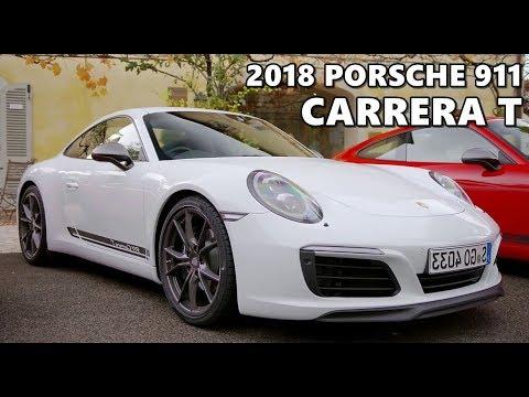 2018 Porsche 911 Carrera T Test Drive Youtube