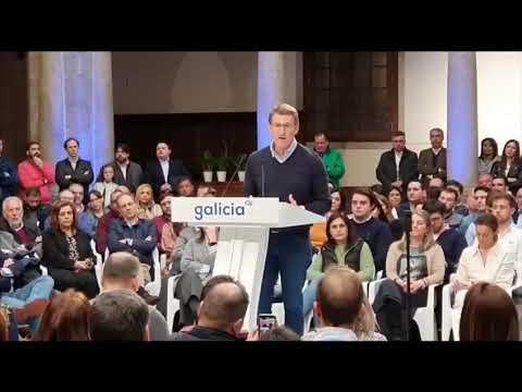 """Feijóo reivindica a """"moderación, coherencia e estabilidade"""" do PP"""