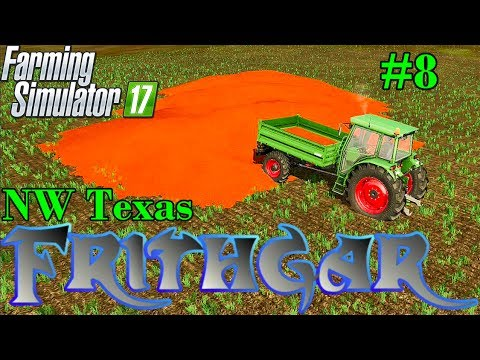 Let's Play Farming Simulator 2017, North West Texas #8: 3 Million Litres Of Seed!