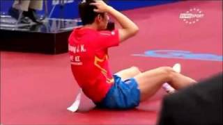 Zhang Jike - World Champion or small boy