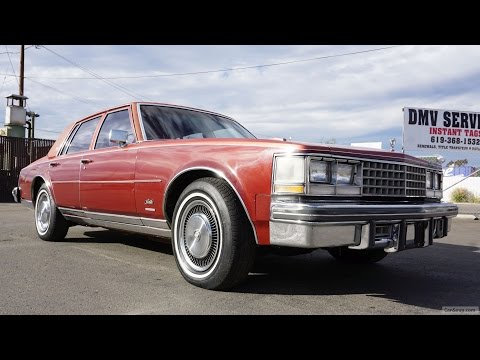 1976 Cadillac Seville Video Review K-body Classic Car Square Body