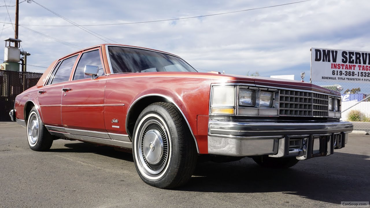 1976 Cadillac Seville Video Review K Body Classic Car Square Body