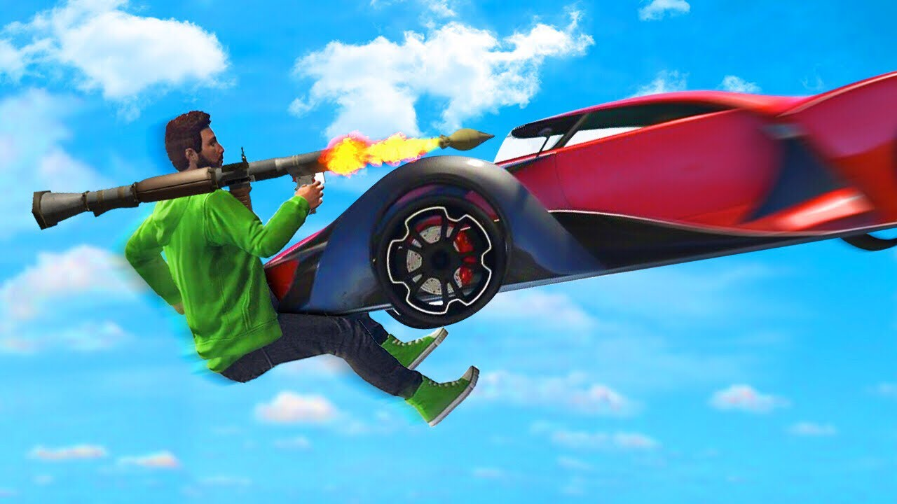 EXTREME 300MPH CARS vs RPGs GTA 5 Funny Moments  Doovi