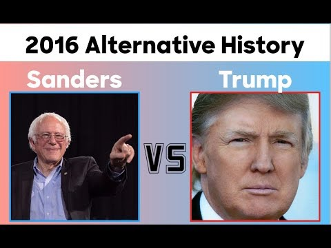 Bernie Sanders vs Donald Trump | 2016 Election Prediction | Alternative History