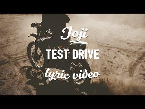 Joji - TEST DRIVE (Lyrics)