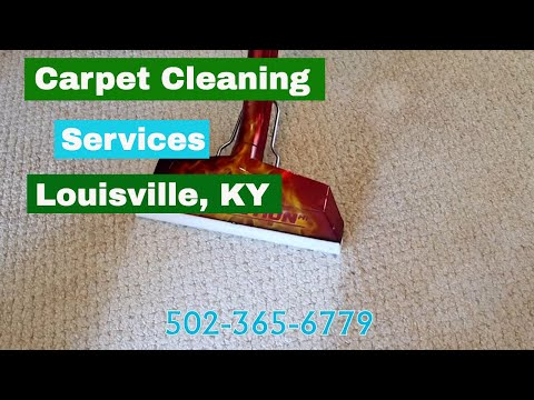 Carpet Cleaning Services in Louisville Ky