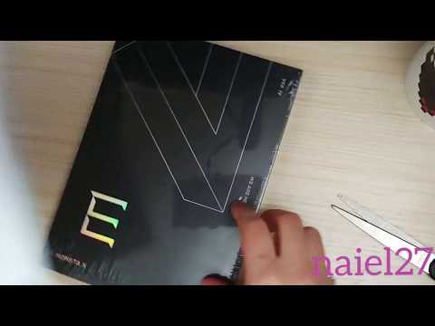 MONSTA X- Take 2 WE ARE HERE ALBUM. Version 4 Unboxing
