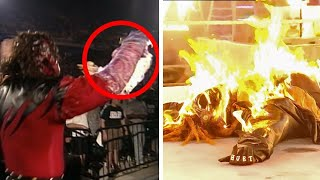 10 Wrestlers Burnt Alive In WWE