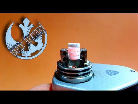 Ceramic Coil in an RDA | TC Mode