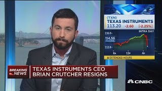 Texas Instruments CEO resigns due to violations of company's code of conduct