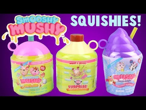 Smooshy Mushy Surprise Squishies Besties Blind Bags Toy Opening! - YouTube