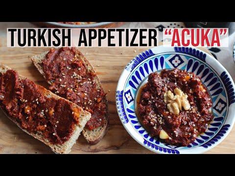 Turkish Appetizer ACUKA / Muhammara - Gourmeturca