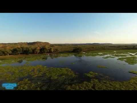 Flying in Gonarezhou National Park (Zimbabwe)