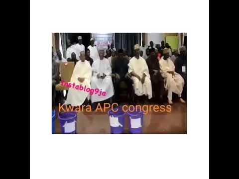"Senate President, Saraki Having A Good Laugh At IGP's ""Transmission"" Joke (Watch Video)"