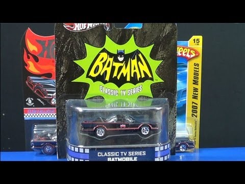Entertainment Series TV Batmobile with Rubber Tires!
