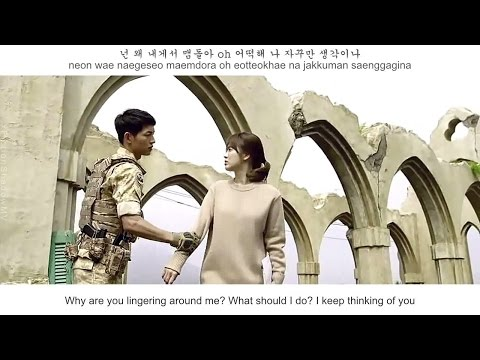 K Will  - Talk Love FMV (Descendant Of The Sun OST Part 6)[Eng Sub + Rom + Han]