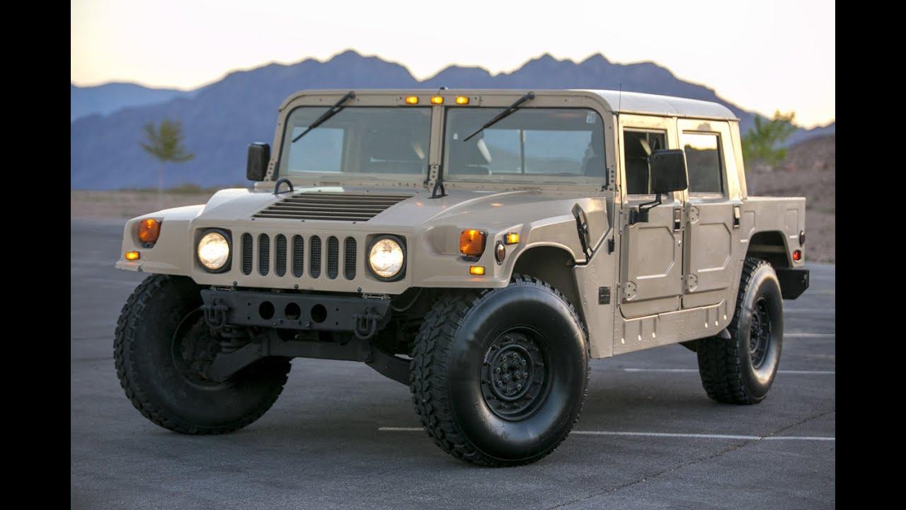 Resultado de imagen para Hummer H1 de 1992