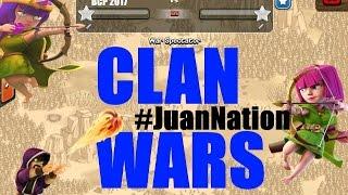Clash of Clans The Clan Wars Episode 13: JUAN VS JUAN, Level Two Clans Collide