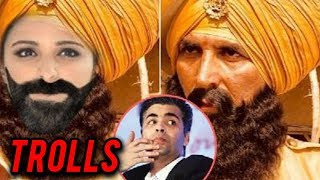 Karan Johar TROLLED on Twitter for Akshay Kumar Kesari Photo