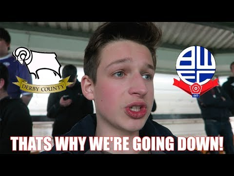 DERBY COUNTY vs BOLTON *VLOG* - That's Why We're Going Down...