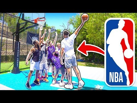 Can 2HYPE Guard Lakers Center JaVale McGee? 1v1 NBA Basketball