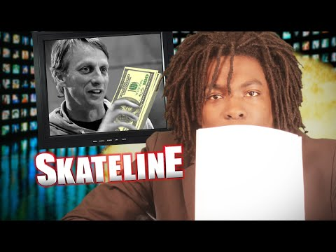 SKATELINE - Tony Hawk, Chris Colbourn,...