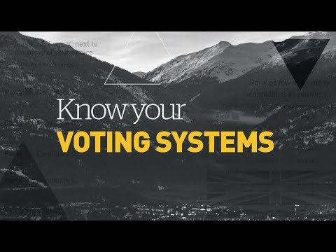 Explaining the 3 types of electoral reform on B.C.'s ballot