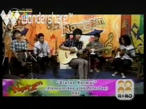 Di Atas Normal (Peterpan Cover) - R'NF Live @ Spacetoon TV