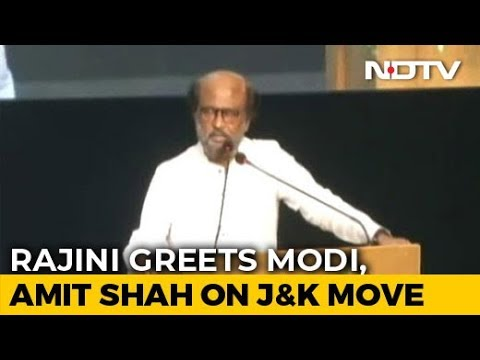 """Krishna-Arjun"": Rajinikanth Hails PM, Amit Shah, Then Delivers A Googly"