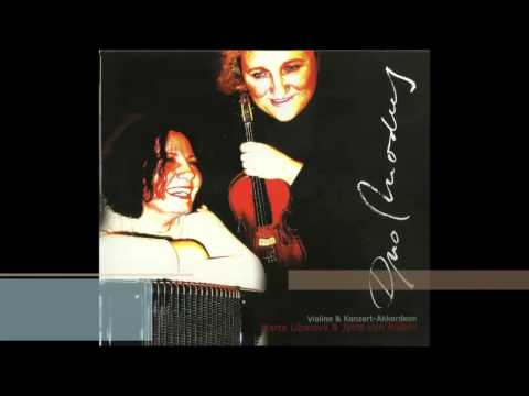Astor Piazzolla: Milonga en re - Duo Modus