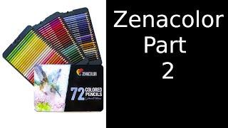 artisti SOLUBILE IN ACQUA colore inchiostro Matite 72 COLORI 2//2 Derwent Inktense