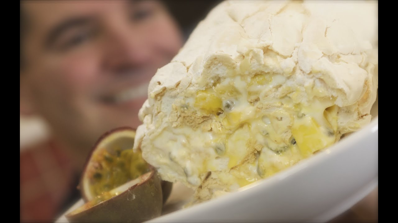 Passion Fruit and Mango Meringue Roulade Recipe Passion Fruit and Mango Meringue Roulade Recipe new pics