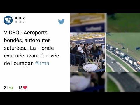 Irma va frapper Cuba et la Floride