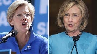 Elizabeth Warren Endorses Hillary Clinton