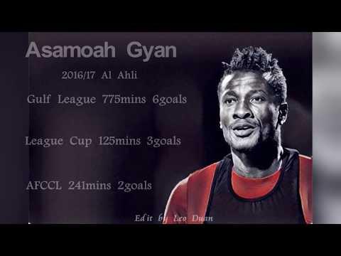 Asamoah Gyan 2016/17 All Goals-Al Ahli
