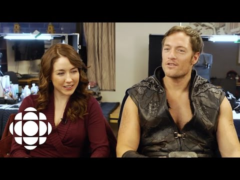 Talking Riftworld Chronicles with Erin Karpluk and Tahmoh Penikett  CBC Connects