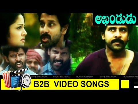 Back To Back Video Songs || Akhandudu Movie || Vikram, Jyothika,|| MovieTimeCinema