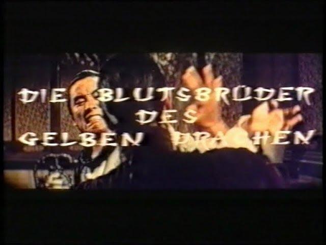 Die Blutsbrüder des gelben Drachen (1973) - DEUTSCHER TRAILER