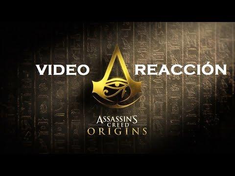 ASSASSIN'S CEED ORIGINS!   VÍDEO REACCIÓN   lucho240
