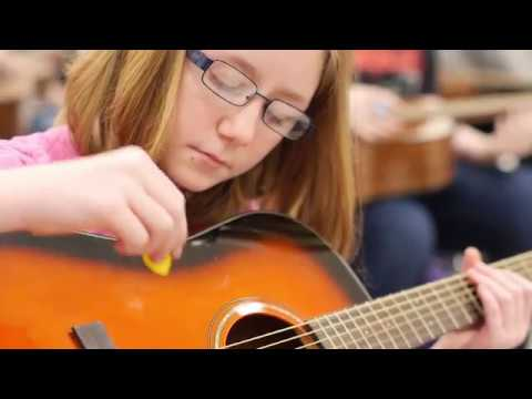 Onsted Middle School's Guitar Class