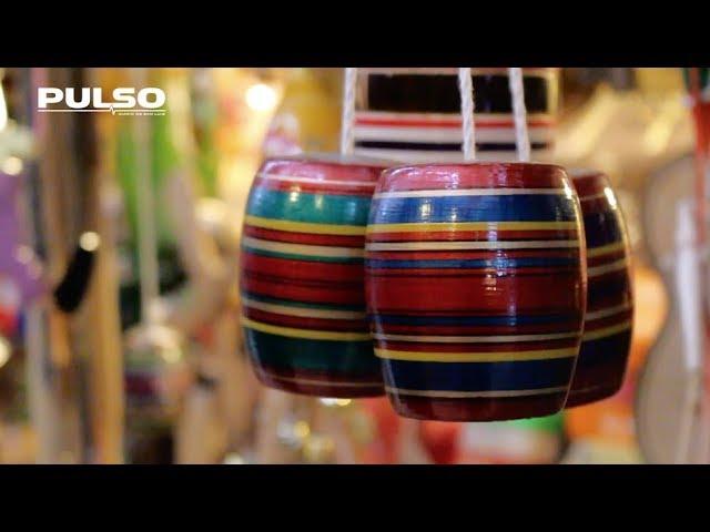Juguetes de madera, una tradición que se mantiene viva