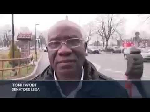 Italy's first black senator, Toni Iwobi, originally from Nigeria, says all illegal immigrants must r