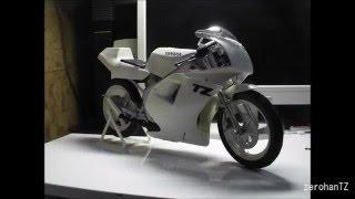 3DプリンターでリアルなヤマハTZ50を作る!(メイキングスライド)
