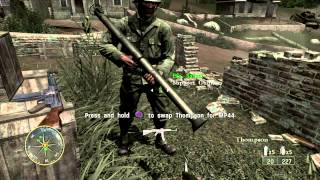 Call of Duty 3 (PS3) - Mission 14 -  Chambois (normal difficulty)