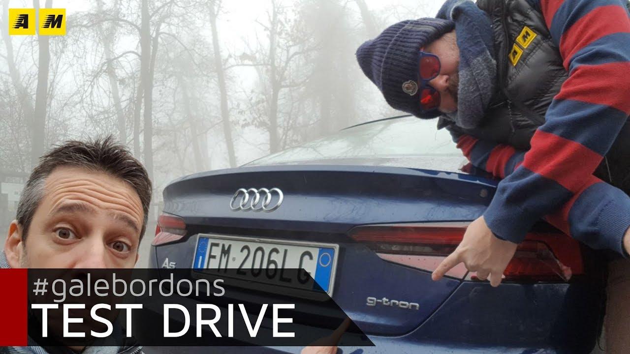 Audi a5 g tron con il metano 8 euro di risparmio per 100 km