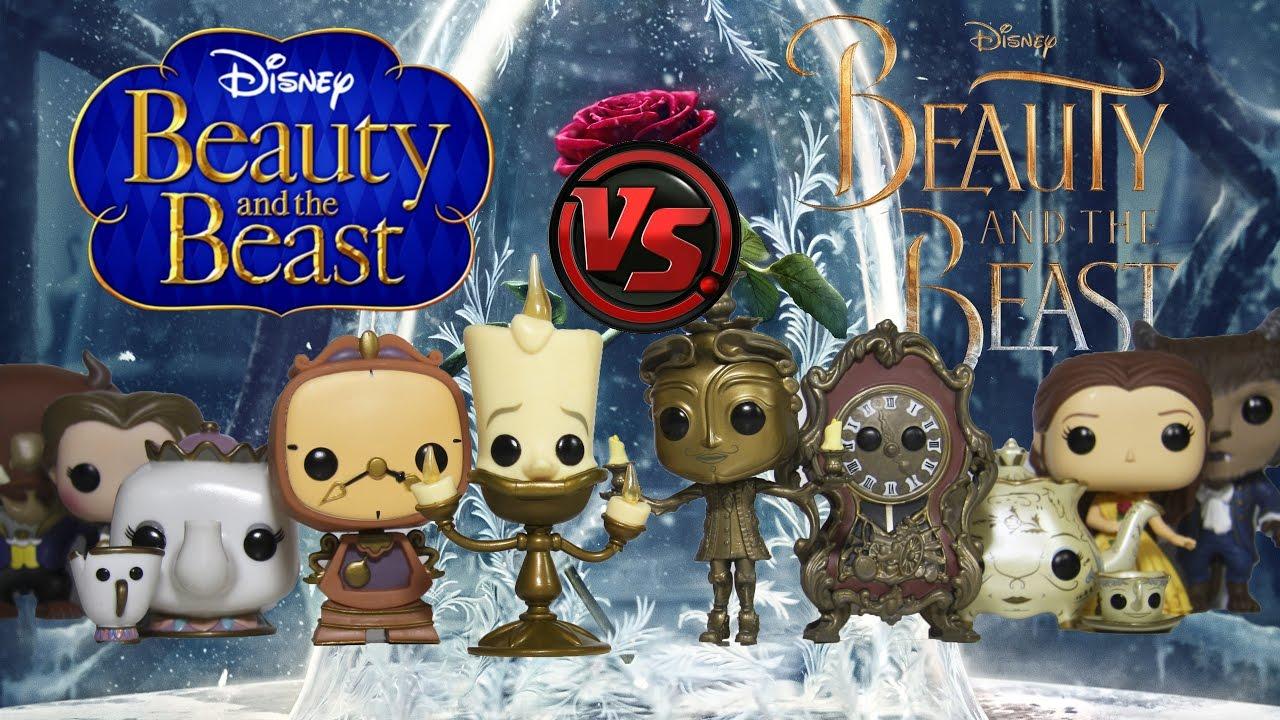 BEAUTY & THE BEAST Animated vs Live Action Funko Pop ...