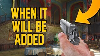 WHEN THE M1911 WILL BE ADDED INTO ZOMBIES CHRONICLES! (Black Ops 3 Zombies DLC 5)