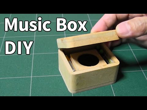 【Orgel】DIY Electronic Music Box With DFPlayer Mini【MP3】