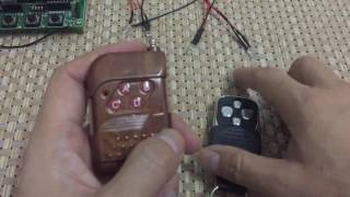 How to use : Duplicator 433.92 mhz Remote Control
