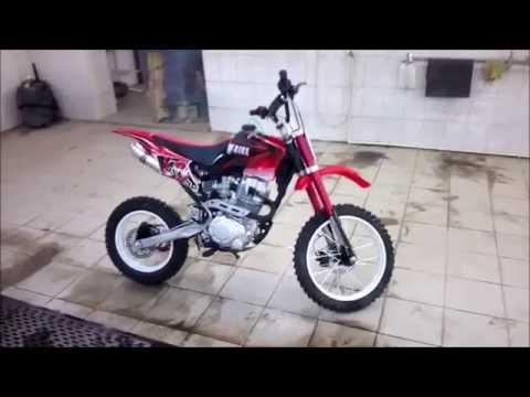 Virus RX 250 питбайк - YouTube